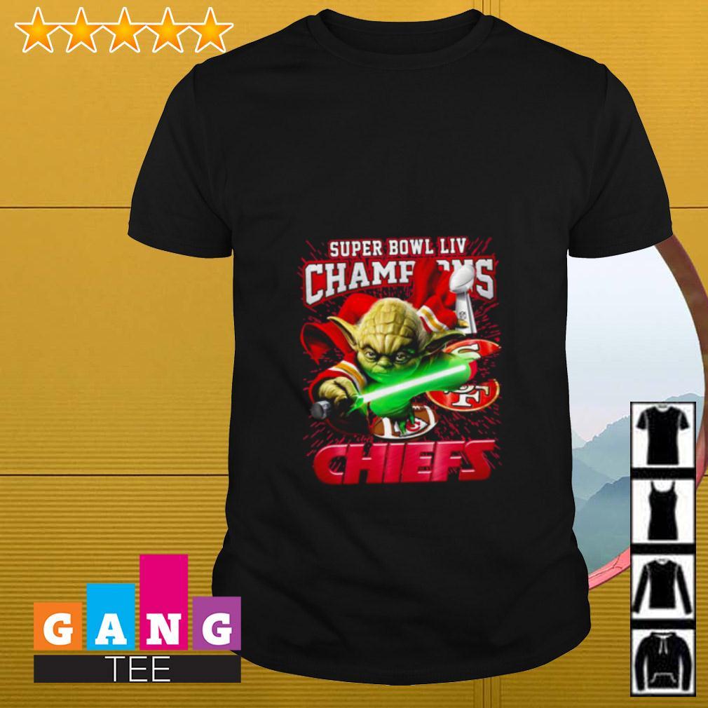 Baby Yoda Super Bowl LIV Champions San Francisco 49ers Kansas City Chiefs shirt