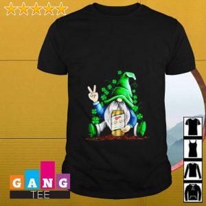 Gnome hugging Miller High Life Irish St. Patrick's day shirt