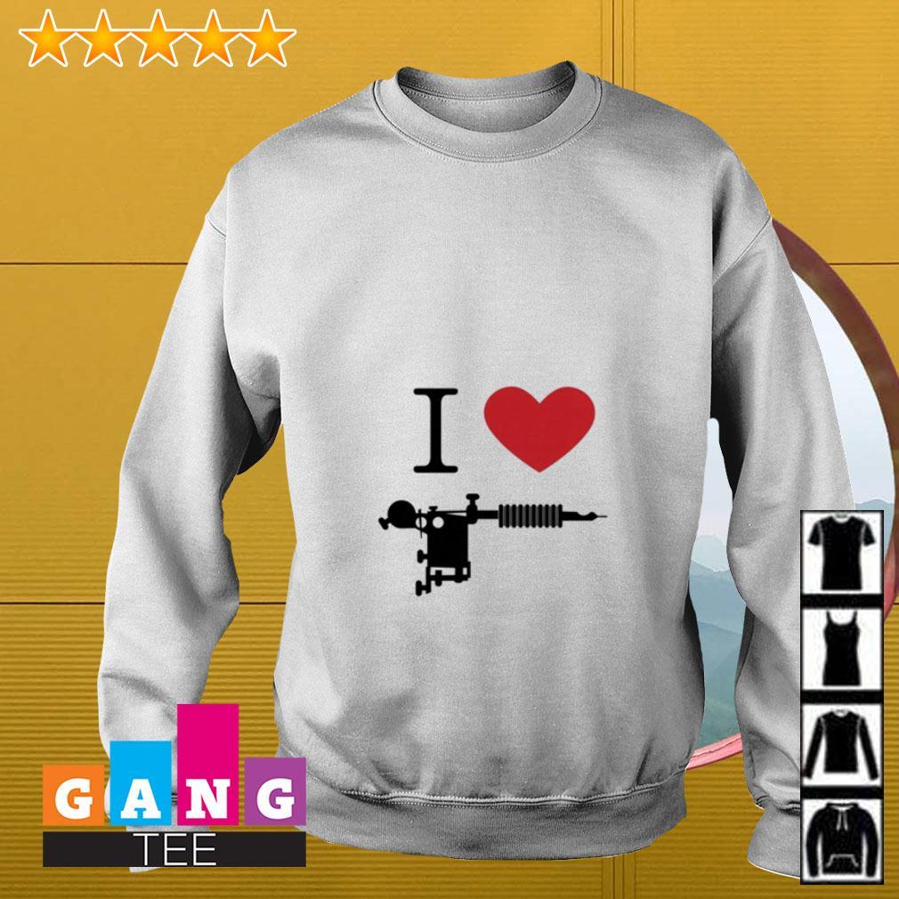 I love Tattoos guns Sweater