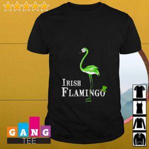 Irish Flamingo St Patrick's Day shirt