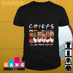 Kansas City Chiefs I'll be there for you Friends TV show shirt