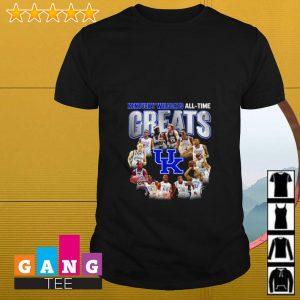 Kentucky Wildcats All-Time Greats Team signature shirt
