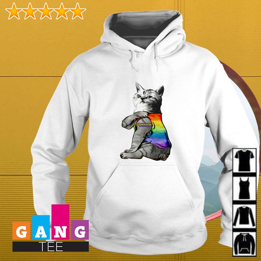 LGBT Cat Purride Hoodie