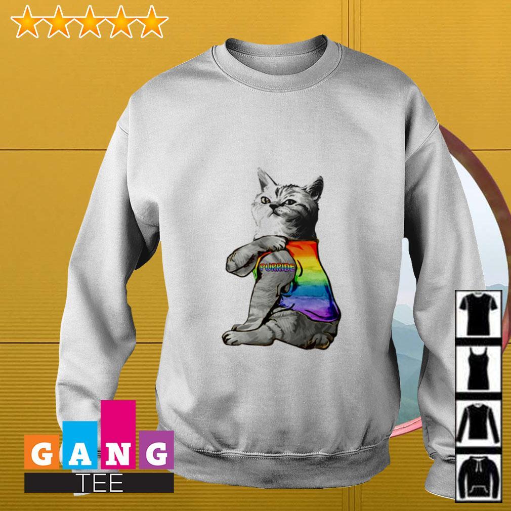 LGBT Cat Purride Sweater