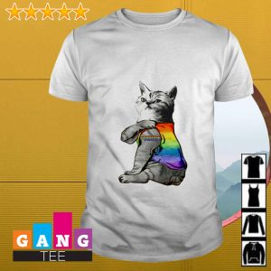 LGBT Cat Purride shirt