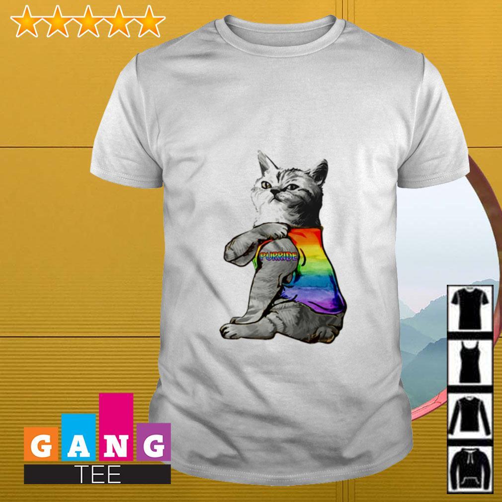 LGBT Cat Purride shirt