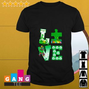 Love Autism St Patrick's Day shirt