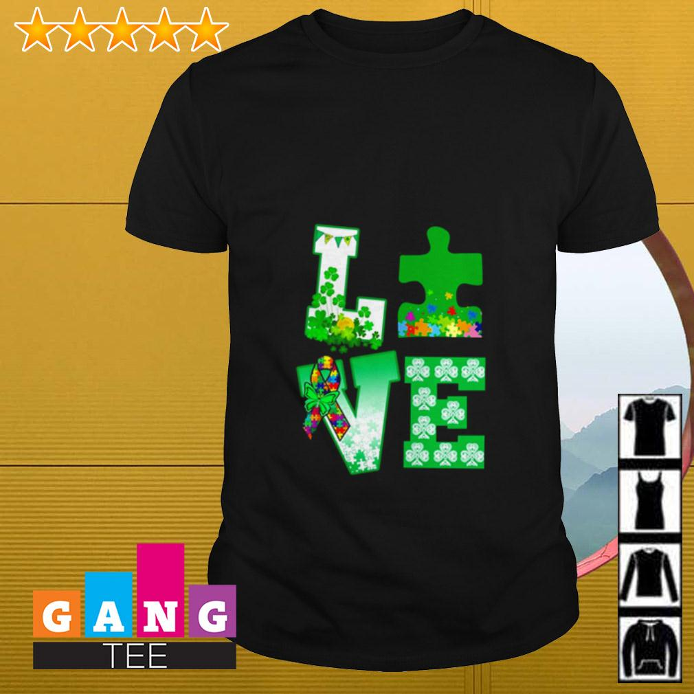 Love Autism St Patrick's Day shirt