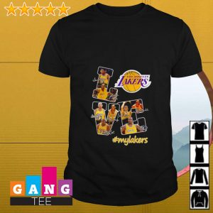 Love Los Angeles Lakers #mylakers shirt