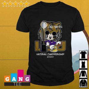 Mickey Mouse LSU Tigers National Championship 2020 shirt