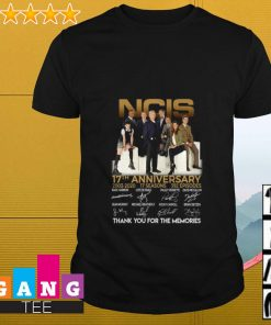 NCIS 17th Anniversary 2003 2020 thank you for the memories signature shirt