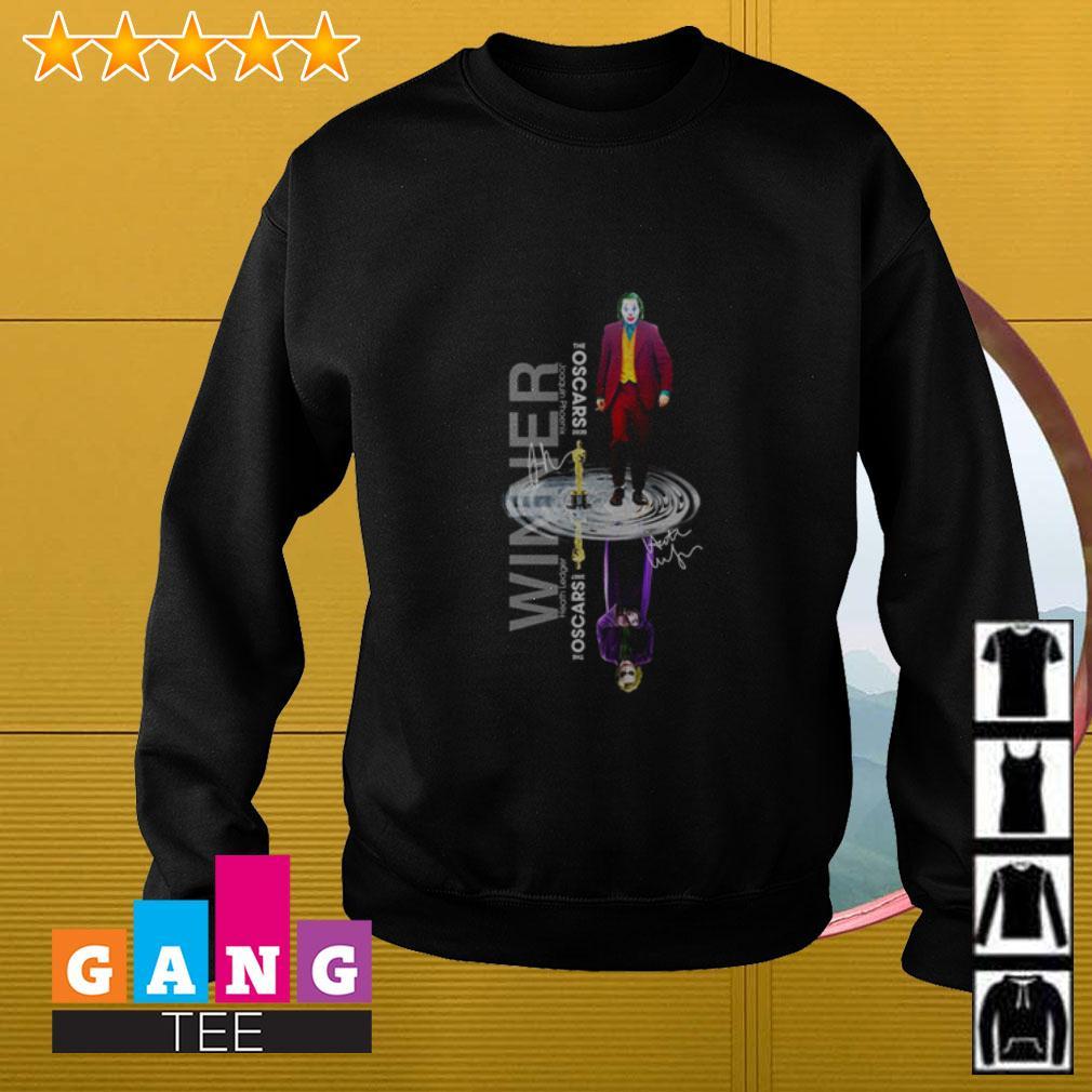 Oscars Joker water reflection winner Sweater