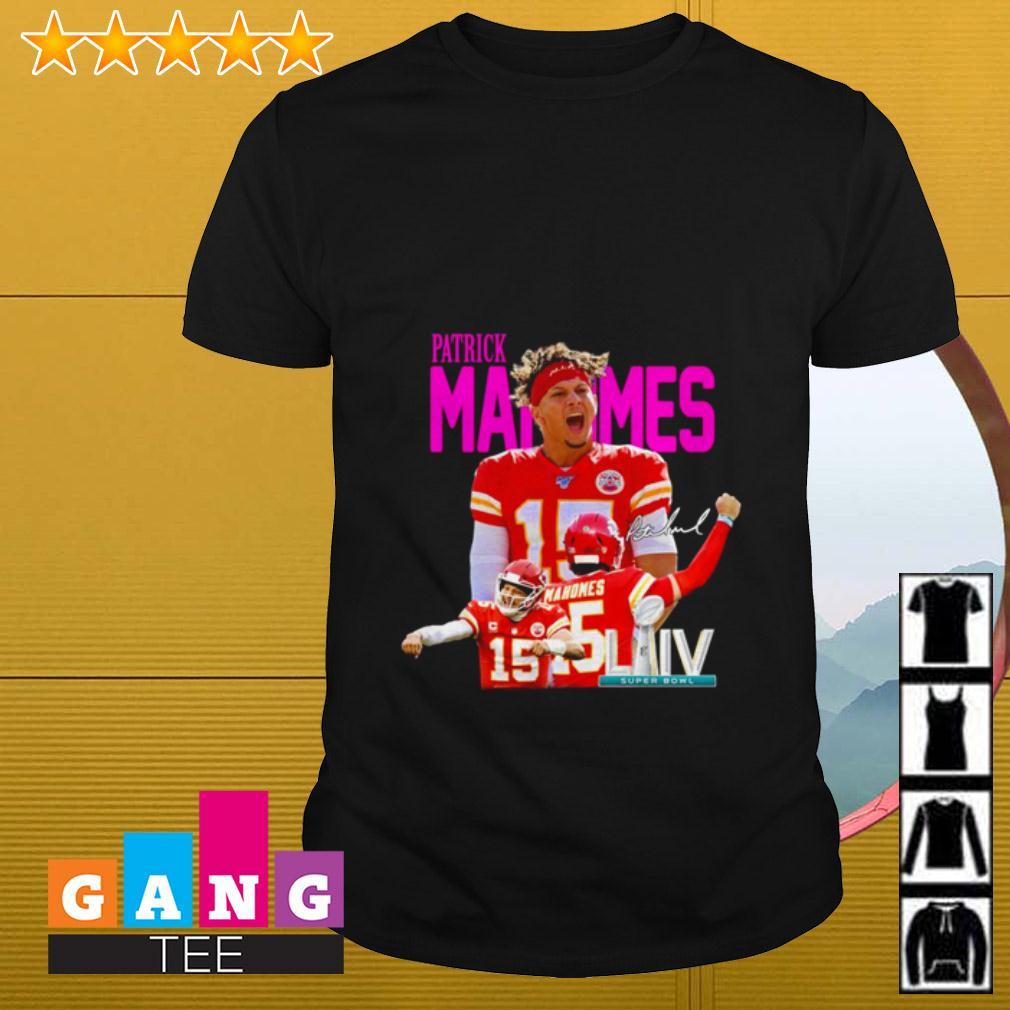 Patrick Mahomes II LIV Super Bowl shirt