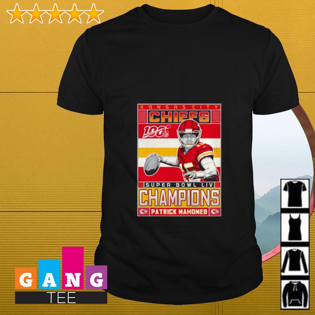 Patrick Mahomes Kansas City Chiefs Super Bowl LIV Champions shirt