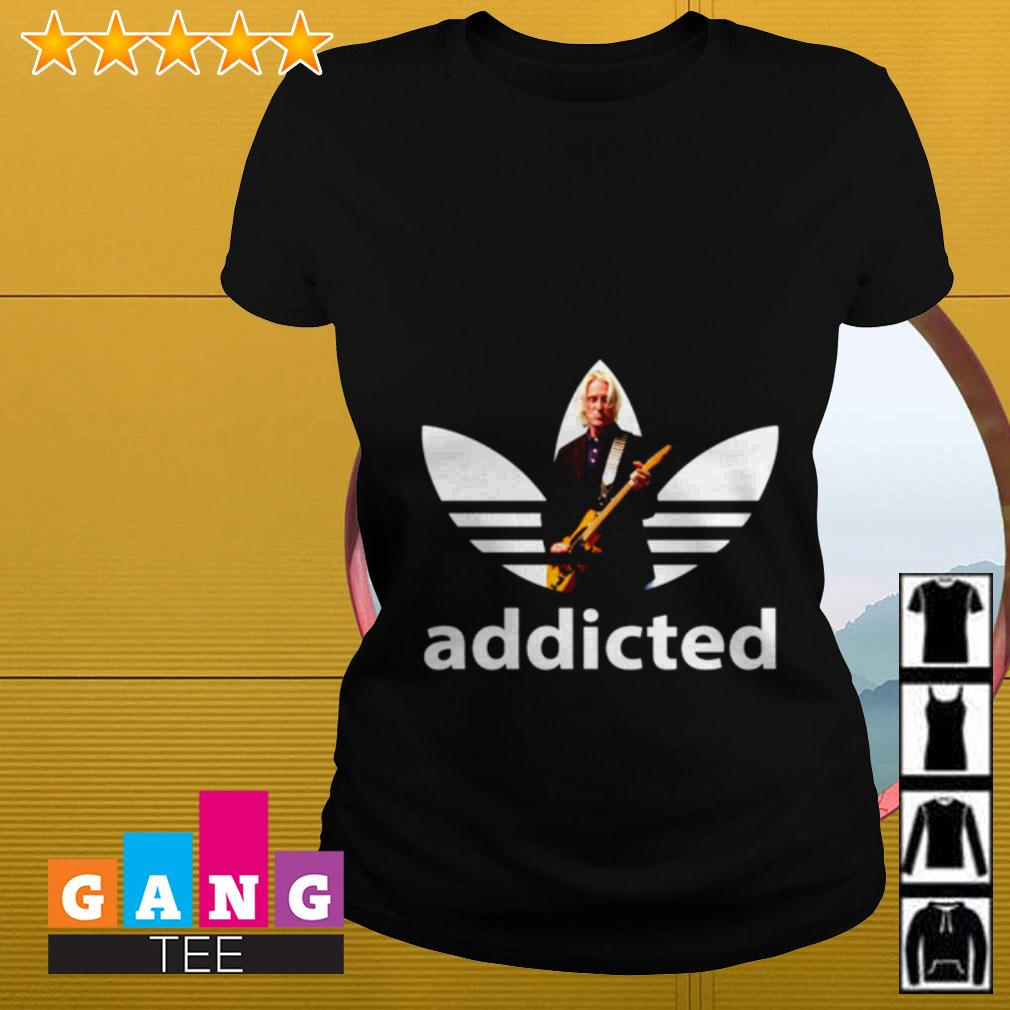 Paul Weller adidas addicted Ladies tee