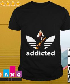 Paul Weller adidas addicted shirt
