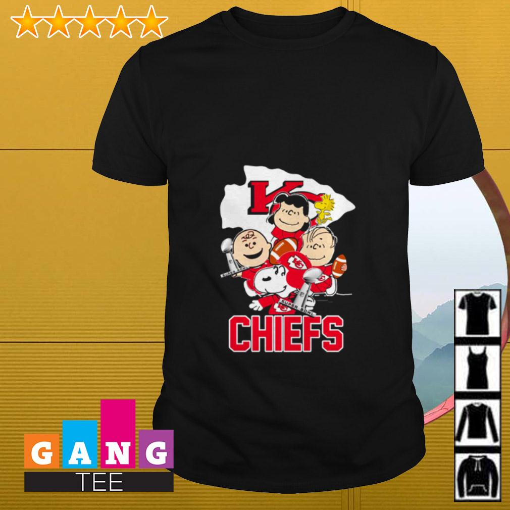Peanuts Snoopy Kansas City Chiefs shirt