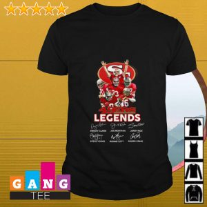 San Francisco 49ers legends signatures shirt