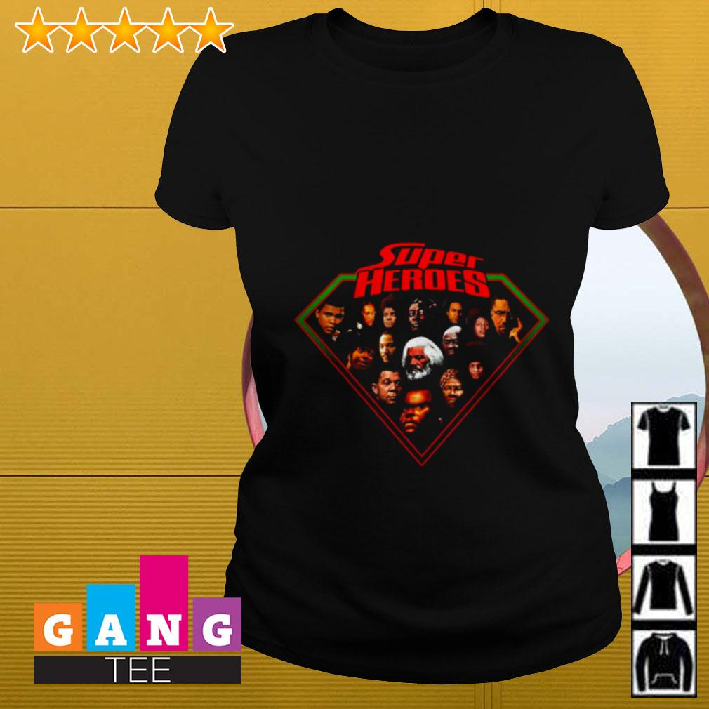 Super heroes Ladies tee