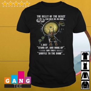 101st Airborne Division The belly of the beast can hold me no more shirt