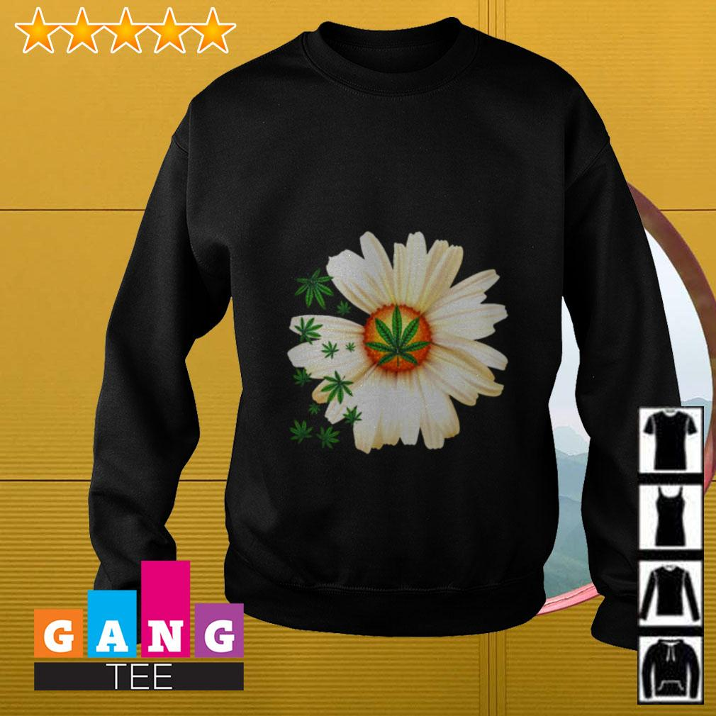 Daisy and Weed Sweater