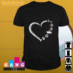 Love Sailor heart shirt
