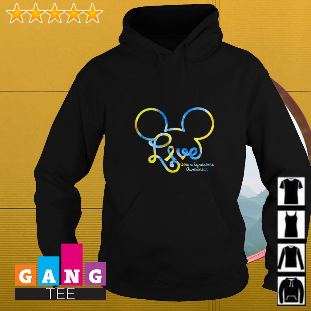Mickey Disney love Down Syndrome awareness Hoodie