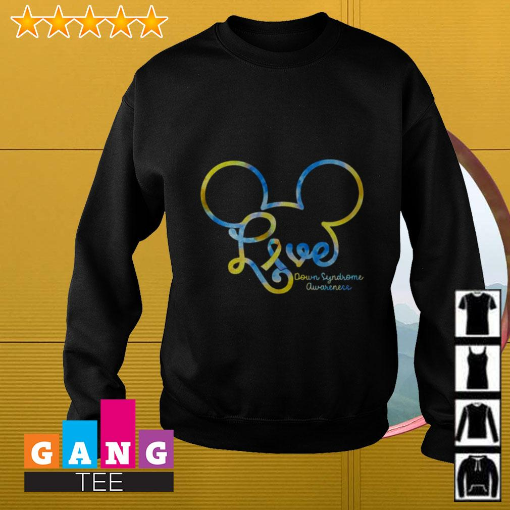 Mickey Disney love Down Syndrome awareness Sweater