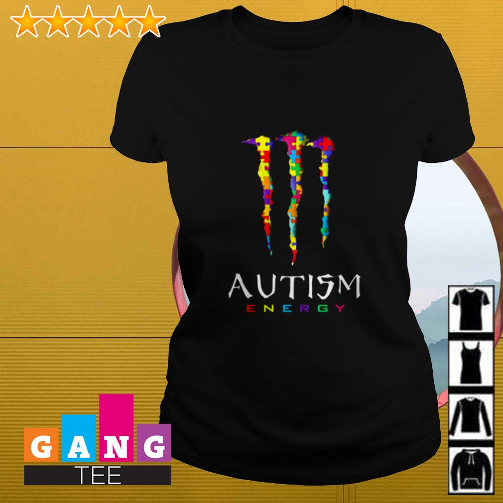 Monster Autism energy Ladies tee