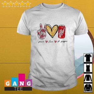 Peace love Dr Pepper shirt