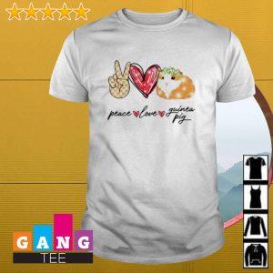 Peace love Guinea Pig shirt