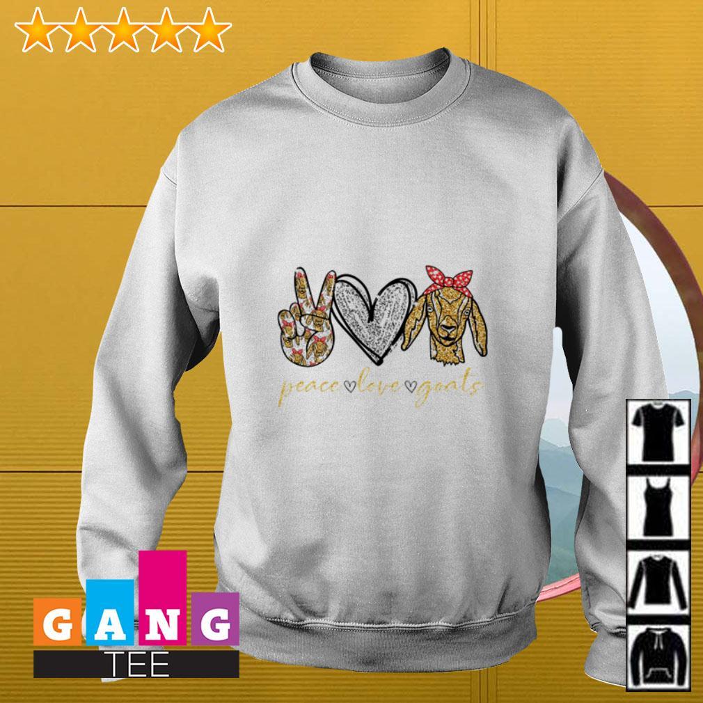 Peace love goats Sweater
