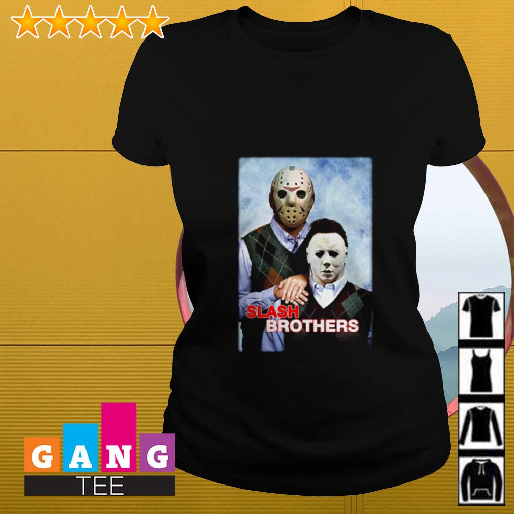 Slash Brothers Jason Voorhees and Michael Myers Ladies tee