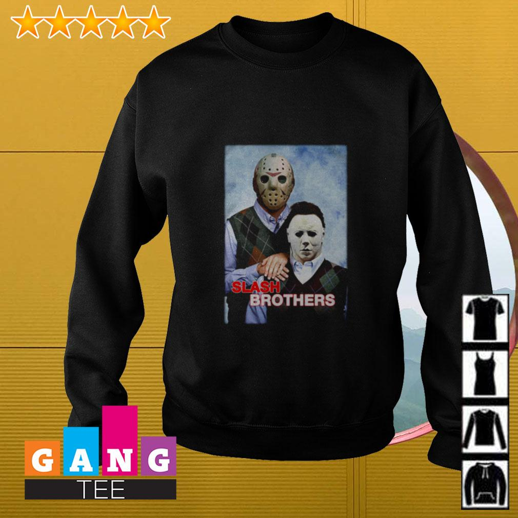 Slash Brothers Jason Voorhees and Michael Myers Sweater