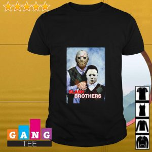 Slash Brothers Jason Voorhees and Michael Myers shirt