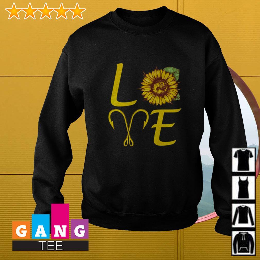 Sunflower love fishing Sweater