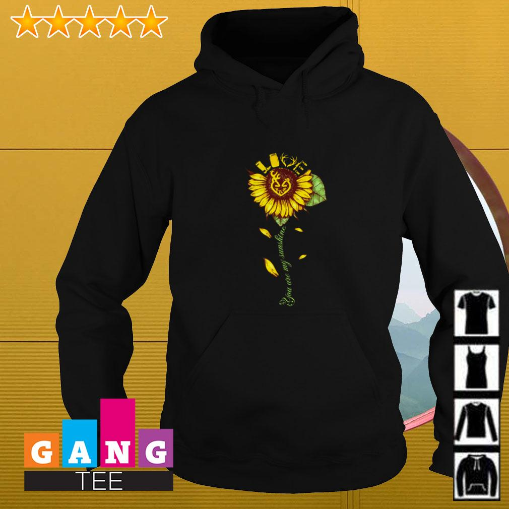 Sunflower love hunting you are my sunshine Hoodie