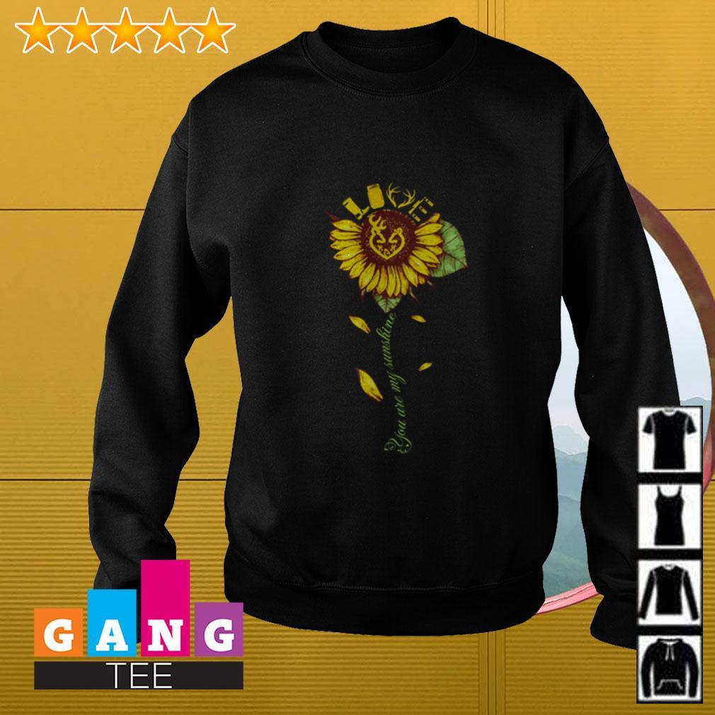 Sunflower love hunting you are my sunshine Sweater
