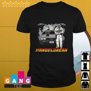 The Mandalorian and Baby Yoda Mandelorean shirt