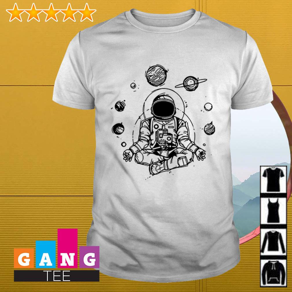Astronaut buddha spiritual space shirt