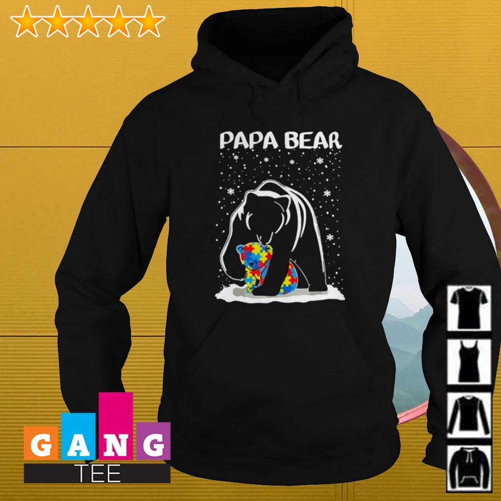 Autism Papa bear Hoodie