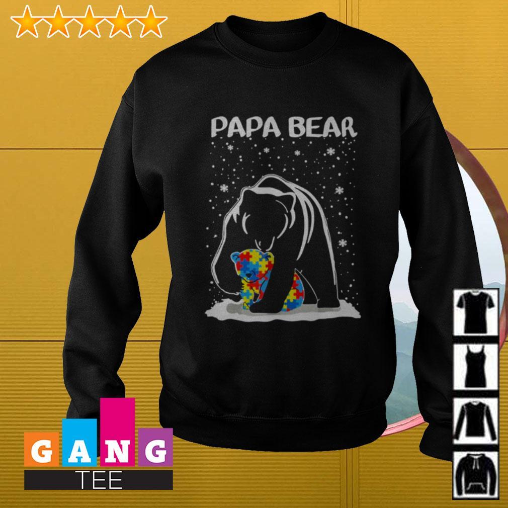 Autism Papa bear Sweater