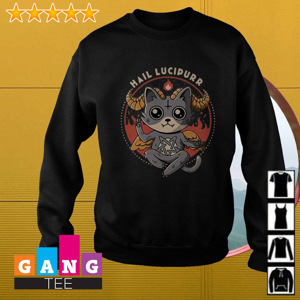 Satan Cat Hail Lucipurr Sweater