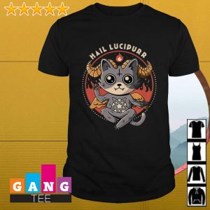 Satan Cat Hail Lucipurr shirt