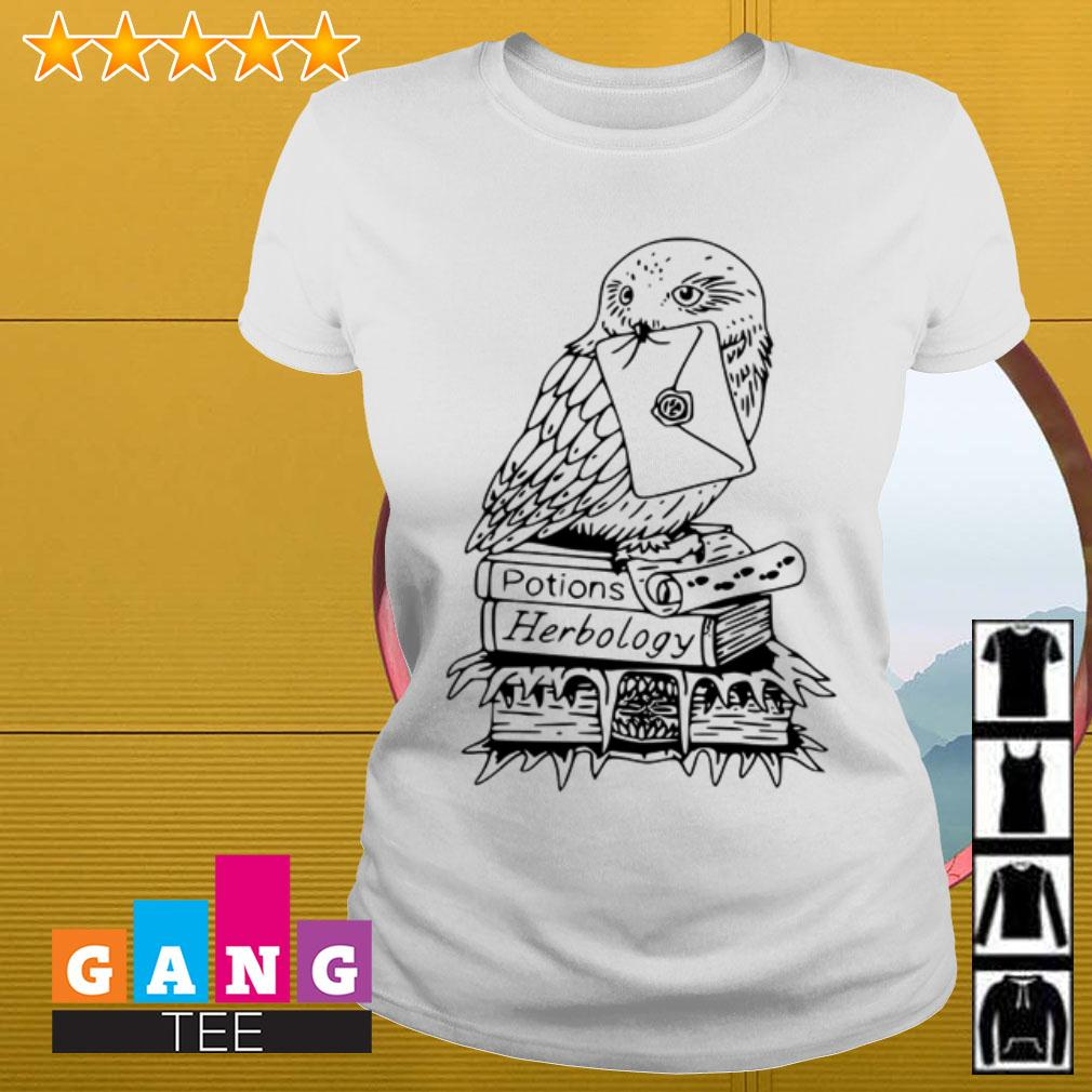 Hedwig Potions herbology Harry Potter Ladies tee