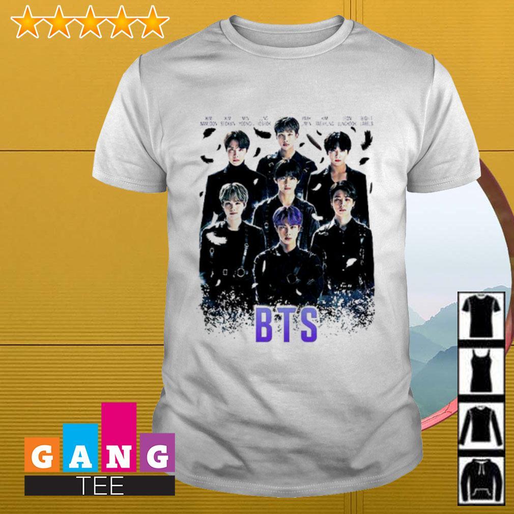 Kpop BTS Black Swan shirt