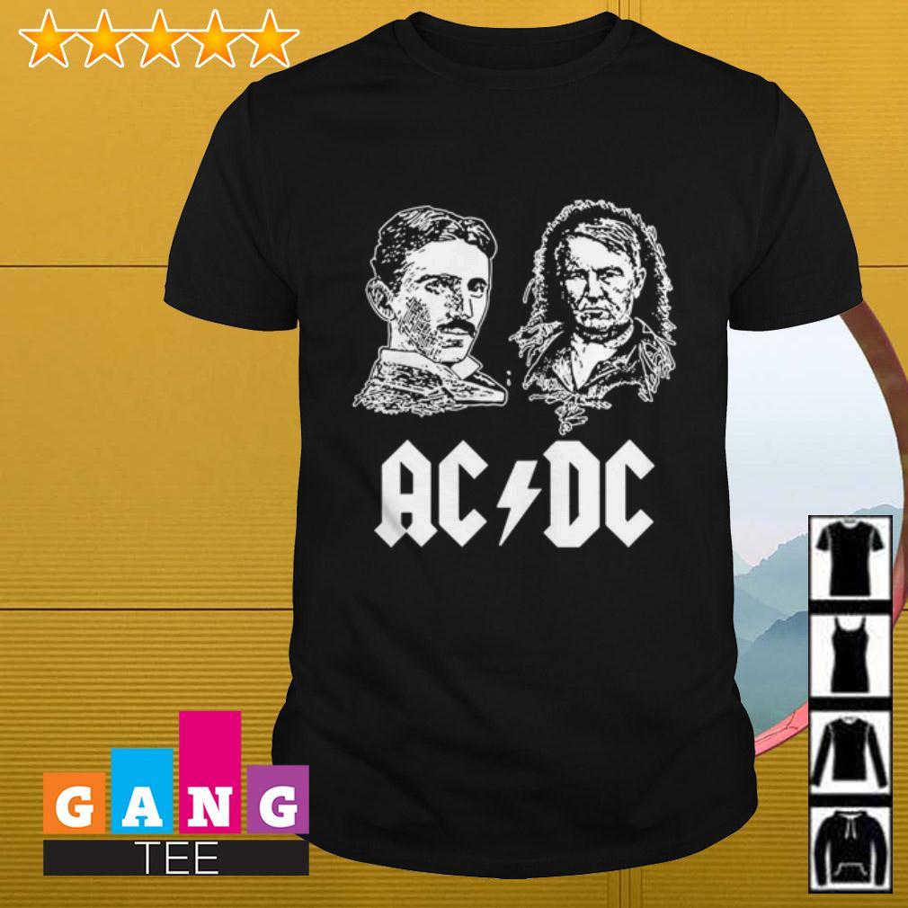 ACDC Nikola Tesla Thomas Edison shirt