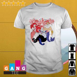 Ariel King sea Ursula America flag 4th July shirt