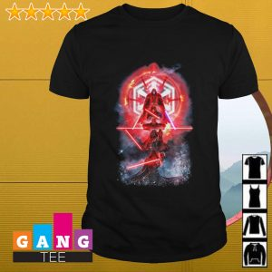 Darth Vader reflection Star Wars shirt