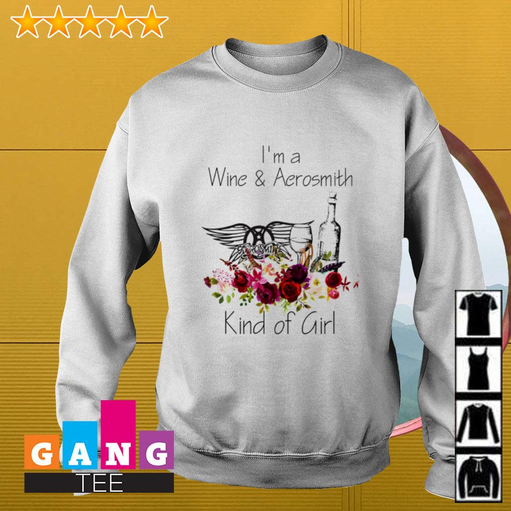 I'm a Wine and Aerosmith kind of girl Sweater